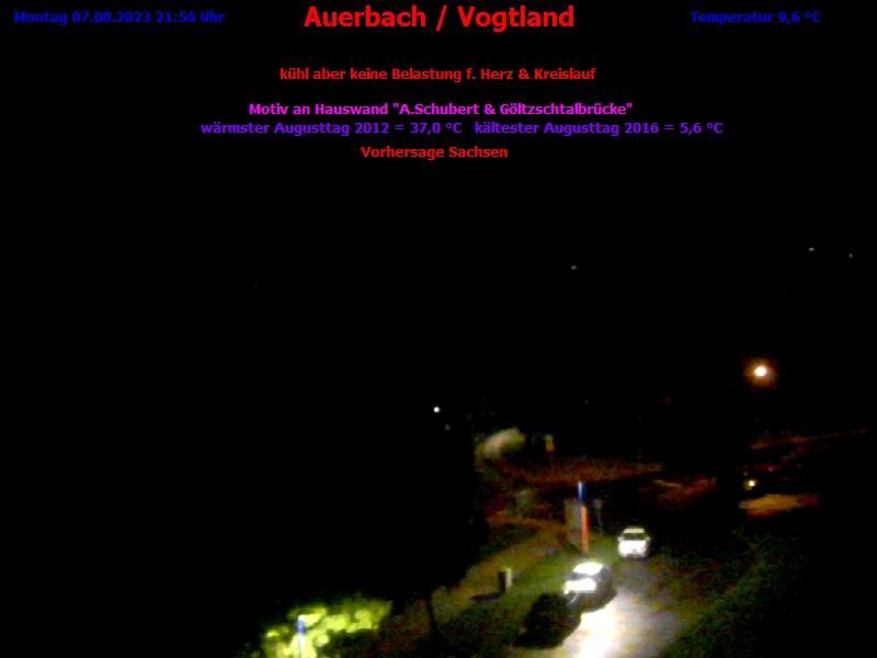 Wetter Auerbach Erzgebirge